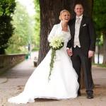 Brautpaar - Hochzeitsfloristik - Biancas Blumenstil - Rhön