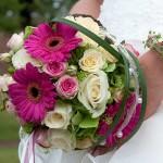 Brautstrauß und Brautschmuck - Hochzeitsfloristik - Biancas Blumenstil - Rhön