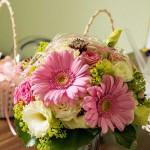 Brautsrauß Gerbera - Hochzeitsfloristik - Biancas Blumenstil - Rhön