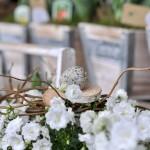 Frühlingsgesteck - Biancas Blumenstil - Gersfeld