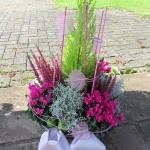 Grabschmuck Blumengesteck - Biancas Blumenstil - Gersfeld
