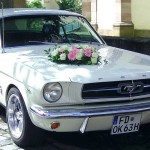 Hochzeitsauto - Blumengesteck - Hochzeitsfloristik - Biancas Blumenstil - Rhön