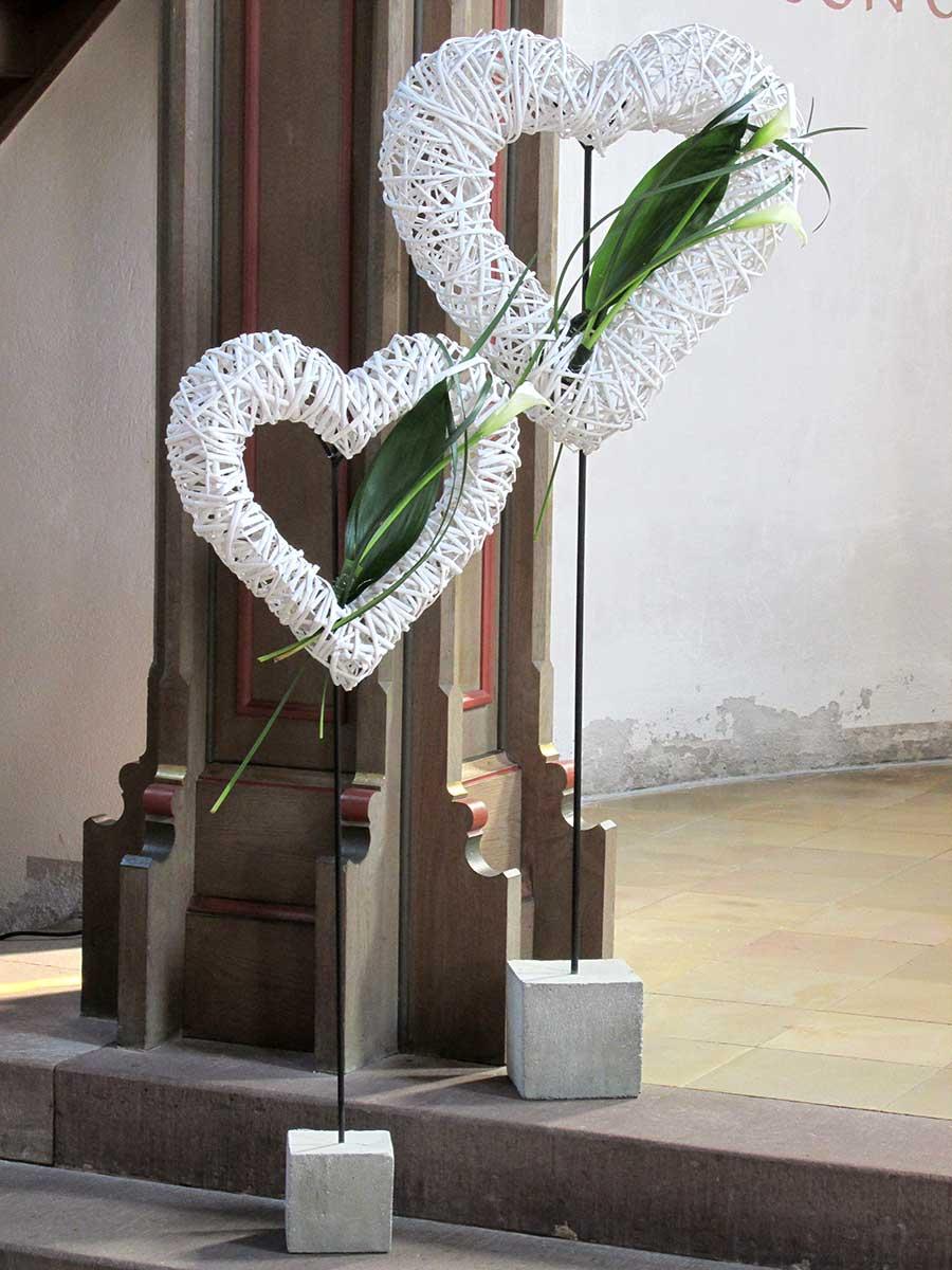 F r einen unvergesslichen tag hochzeitsdekoration for Dekoration hochzeit kirche