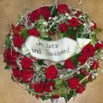 Trauerkranz - Biancas Blumenstil - Gersfeld